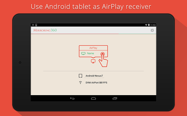 Use Android As AirPlay Receiver